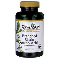 Аминокислоты с Разветвленной Цепью, (для роста мышц) 100 капсул *