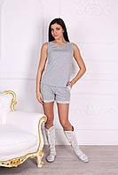 Однотонные женские шорты (меланж) ТМ Роксана