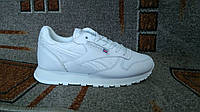 Женские повседневные кроссовки Reebok Classic White белые, фото 1