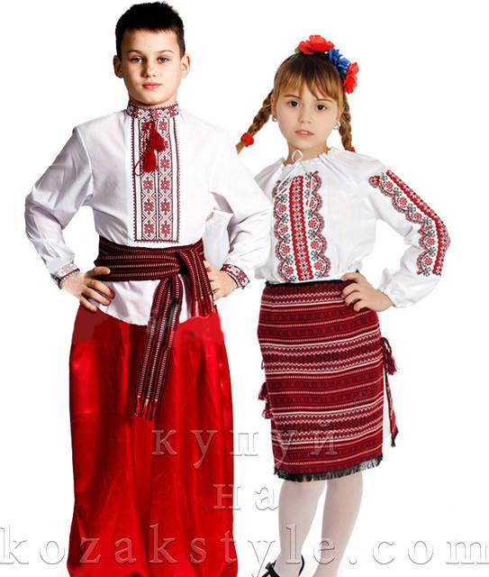 Дитячі українські костюми. Товары и услуги компании