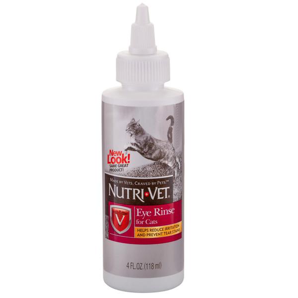 Nutri-Vet Eye Cleanse НУТРИ-ВЕТ ЧИСТЫЕ ГЛАЗА глазные капли для кошек