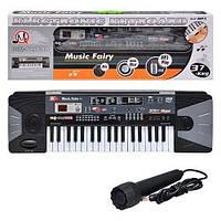 Детский синтезатор MQ-805 USB, микрофон, MP3, от сети