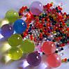 Растущие в воде гидрогелевые шарики