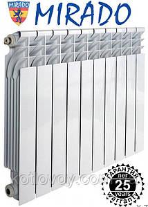Биметаллический Радиатор Mirado (Мирадо) 500/96, 30 атмосфер