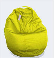Пуф детский Груша жёлтая