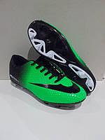 Бутсы футбольные Walked Nike зелёные