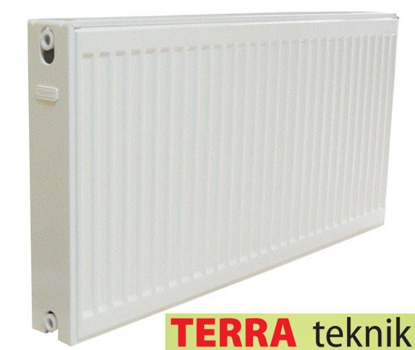 Стальной Радиатор отопления (батарея) 500x1500 тип 22 Terra Teknik (боковое подключение)