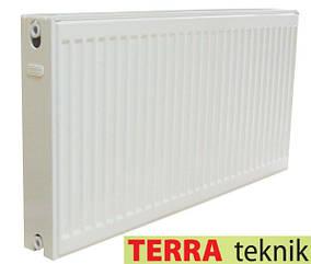 Стальной Радиатор отопления (батарея) 500x1000 тип 22 Terra Teknik (боковое подключение)
