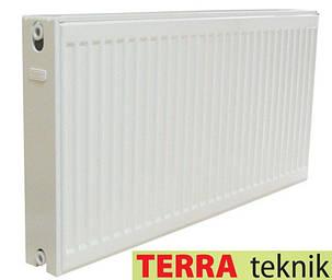 Стальной Радиатор отопления (батарея) 500x1500 тип 22 Terra Teknik (боковое подключение), фото 2