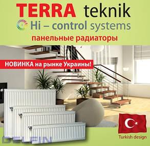 Панельный стальной радиатор Terra Teknik 22 тип 500*1000, фото 2