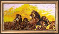 Набор для вышивки бисером  Львы 588