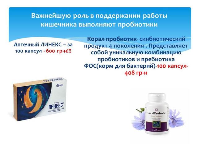 пробиотики ,корал пробиотик ,пробиотики для