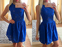 Легкое женское платье материал прошва-батист