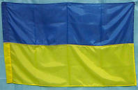 Флаг УКРАИНА большой,  135*90 см