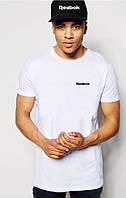 Стильная мужская футболка белая Reebok