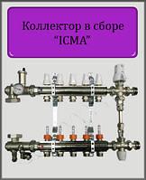 """Коллектор в сборе ICMA 1""""x8 выходов"""