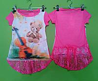 Футболка для девочки Goloxy  р.98-128.Детская одежда оптом из Венгрии