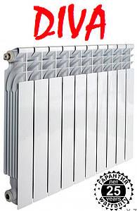 Биметаллический радиатор Diva (Дива) 500/96, 30 атмосфер