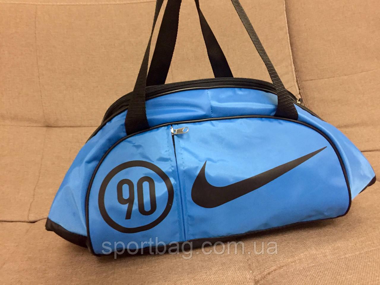 4e292bdea109 Сумка спортивная Nike (голубой + черный цвет) - Интернет-магазин  Sportbag.com