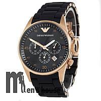 Элитные часы Armani AR-5905 AAA Pink Gold/Black
