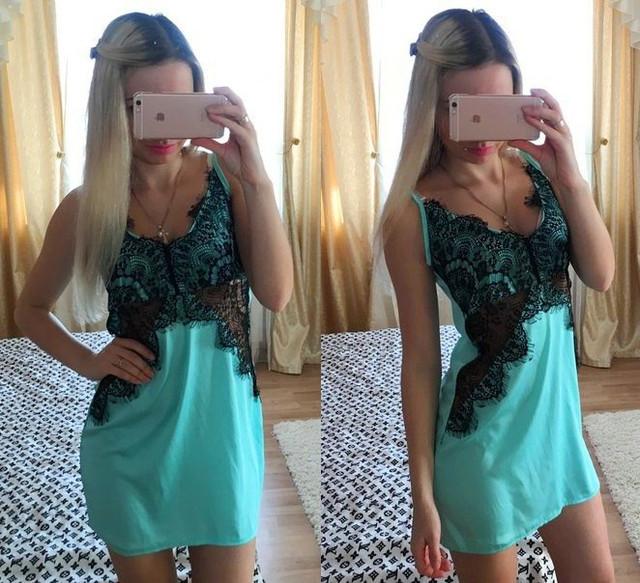 Женские пижамы, ночные рубашки, пеньюары