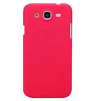 Чехол Nillkin для Samsung Galaxy Mega 5.8 i9150 / i9152 красный (+пленка)