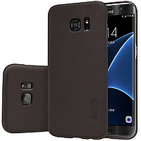 Чехол Nillkin для Samsung Galaxy S7 Edge коричневый (+пленка)