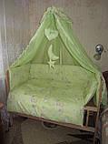 Защита  в детскую кроватку , фото 5