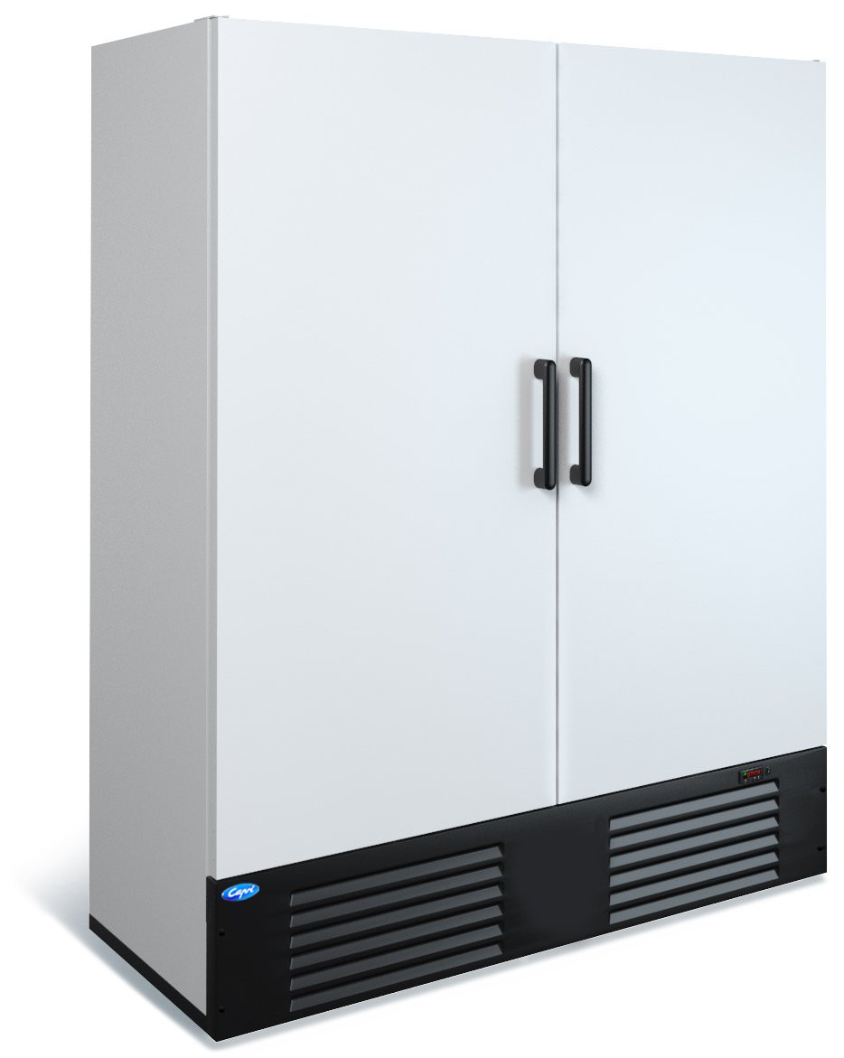 Холодильный двухдверный шкаф Капри 1,5 М