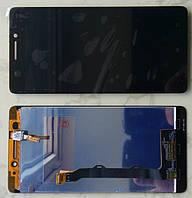 Lenovo A7000 дисплей в зборі з тачскріном модуль чорний