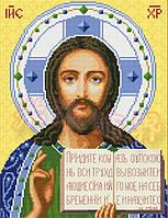 Алмазная вышивка JD-132 Иисус 40*50 см, камни