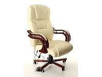 Кресло офисное массаж PRESIDENT Бежевое