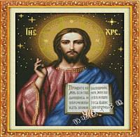 Алмазна вишивка JD-001 Ісус 40*50 см, камені