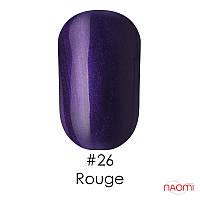 Гель-лак Naomi Gel Polish 26 - Rouge, 6 мл