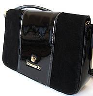 Лаковая сумочка через плечо 2017