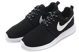Кросівки Nike Roshe Run чорно-білі
