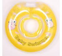 Круг для купания младенцев ТМ Baby swimmer 6-36кг желтый