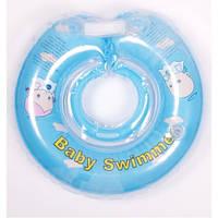 Круг для купания младенцев ТМ Baby swimmer 6-36кг голубой