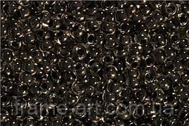 Бисер 38449 Preciosa (Чехия) черный прокрашенный 25г