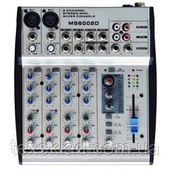 Микшерный пульт MS6002D