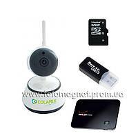 КОМПЛЕКТ IP видеонаблюдения(готовое видеонаблюдение) COLARIX ОНЛАЙН 3G +