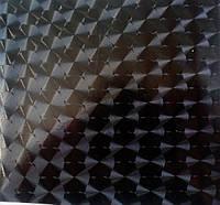 Пленка 4d с эффектом CIRCLES черная с микроканалами
