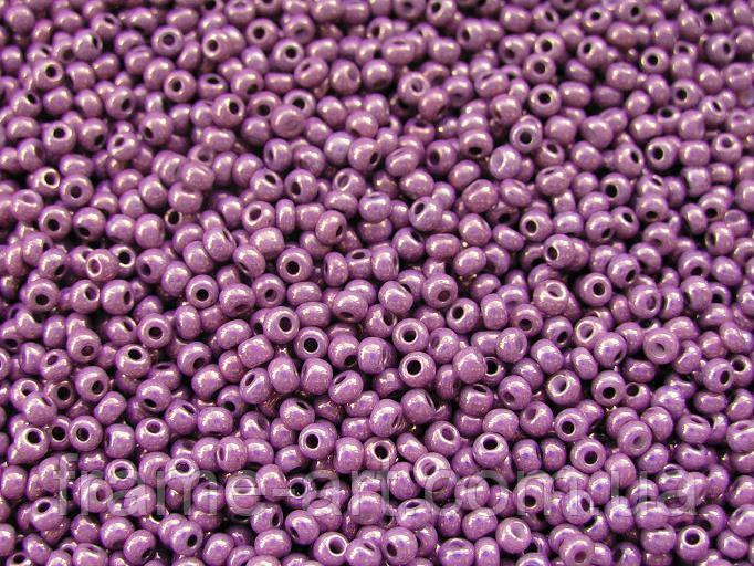 Бисер 46025 Preсiosa (Чехия) фиолетовый люстеред 25г