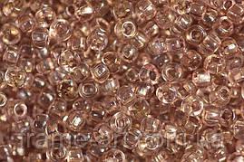 Бисер 01113 Preсiosa (Чехия) серо-коричневый прозрачный 25г
