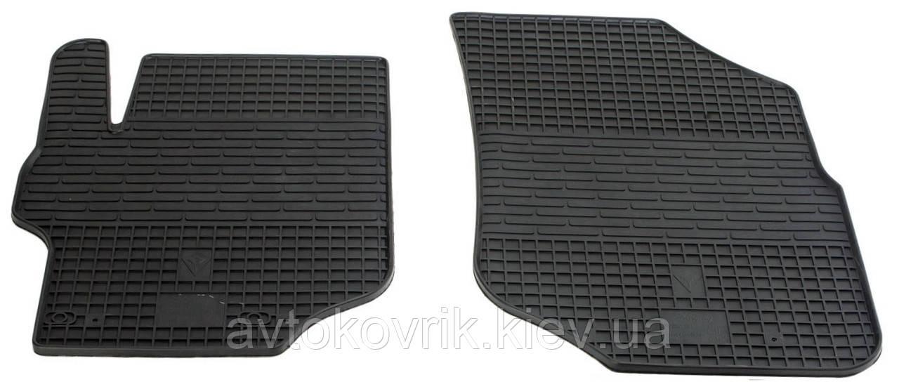 Резиновые передние коврики в салон Citroen C-Elysee II 2013- (STINGRAY)