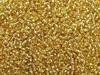 Бісер 17020 (10310) Ргесіоѕа (Чехія) світло-золотистий блискучий 25г