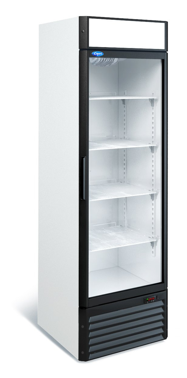 Холодильный шкаф Капри 0,5СК (0...+7 С) стекло
