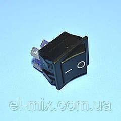 Выключатель AE-C1350ALAAF (RS201) черный 1-группа ON-OFF  Arcolectric