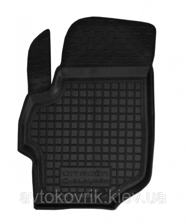 Полиуретановый водительский коврик в салон Citroen C-Elysee II 2013- (AVTO-GUMM)