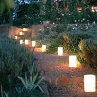 Установка светильников ландшафтных в грунт